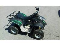Quad bike 110cc semi auto 3 speed with reverse, great runner.