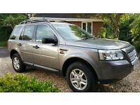 Land Rover Freelander Auto, LOW MILES, Towbar, Roofbars, Satnav