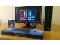 HP 8100 I3 Home & Business PC Desktop Computer & LG 19 Widescreen