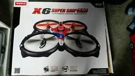 Huge x6 super ship drone quadcopter