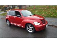 Chrysler PT Cruiser 2004 petrol manual 12 months mot
