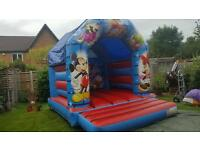 Bouncy castle hire-Rodeo bull Hire-sumo suit hire-Gladiator dual hire from £40 a day