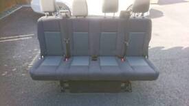 Mk8 ford transit quadruple rear bench seat