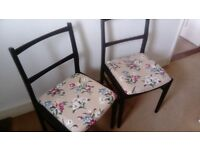 Pair of vintage style chairs