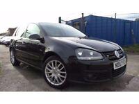 2007 (57) Volkswagen Golf 2.0 TDI GT Sport 5dr, FSH, 3 Months Warranty & 12 Months Breakdown, £2,495