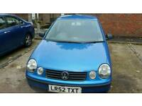 volkswagen polo 1.2L , one year new mot for sale