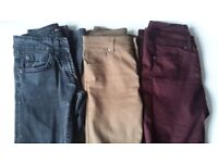 Size 8 jeans x3 £3 each