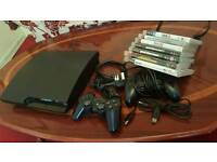 PS3 SLIM 320GB NOT USED MUCH GOOD CONDITION