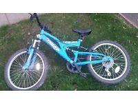 20 inch boys trax bike