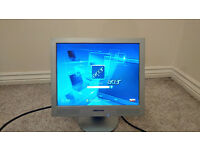 "Medion 15"" Inch PC Desktop Monitor Built In Speakers"