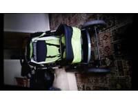Matching pram and car seat