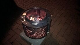 Stainless fire pit / planter / bbq