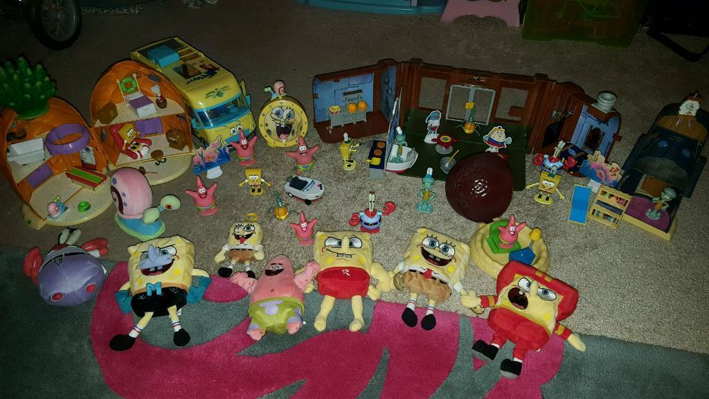 Spongbob toys