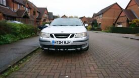 Saab 9-3 2.0T Aero Convertible 210 BHP (SORN) with B/Tooth & Reverse Parking Aids Cheap convertible