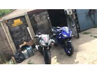 Yamaha Yzf r125 ready to ride away x2