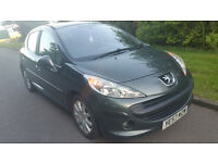 57reg PEUGEOT 207 diesel ,look & drive like a new car