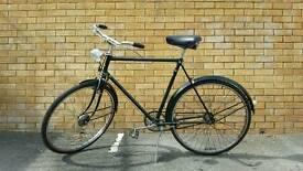 Raleigh gents town bike retro rod brakes