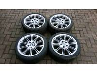 """BMW MV2 ALLOYS / 18"""" / WITH TYRES / GOOD CONDITION"""