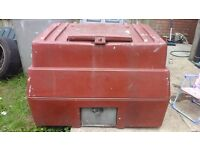 EXTRA LARGE COAL BUNKER £50.00 CAN DELIVER ANYTIME