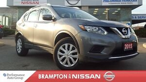 2015 Nissan Rogue S AWD *Eco,Bluetooth,Rear View Monitor*