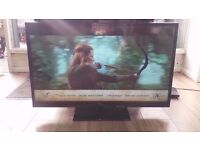 """Panasonic 42"""" Full HD 1080p LED TV With Freeview HD £130"""