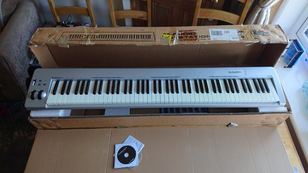 2b611bfbe M-Audio Keystation 88es - MIDI Keyboard Controller - Excellent condition (  MAudio 88 es )