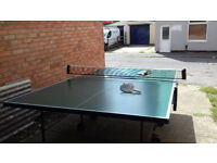 Used Foldaway Table Tennis Table - very good condition