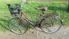 Raleigh Cameo 1980s Ladies Bicycle