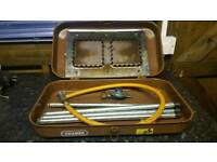 Cramer gas cooker and heater in one!good working order can deliver or post!