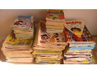 Job Lot of Beano, Dandy, and other comics and books (450+ items)