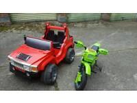 Battery car and bike