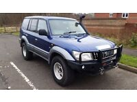 2001 TOYOTA LAND CRUISER GX 3.0 D4D DIESEL 5DR MANUAL OVERLAND EXPEDITION 1Y MOT
