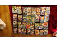 71 original disney vhs tapes