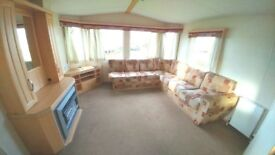 DEAL OF THE WEEK STUNNING STATIC CARAVAN FOR SALE WHITLEY BAY COASTAL LOCATION SITE FEES INCLUDED
