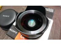 *PRICE DROP*Sony VCL-ECF1 & VCL-ECU1 Fisheye and Ultra Wide Angle lens converters for 16mm f2.8