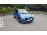 Renault Clio 1.2 16V low milage good condition