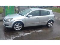 Vauxhall Astra SRI 1.9 CDTI 2007 5 Door Silver