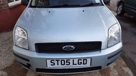 Ford Fusion 1.4 2005 City, 50k miles, AC, 1 Year MOT, Parking Sensor, 2 owners, Lady owners