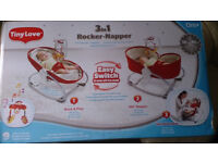 Tiny Love 3-in-1 Rocker Napper Baby Seat Rocking Soft Sleeping Infant Essential