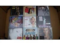 Various music CDs for sale 50p each.