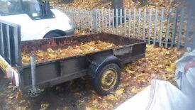 All steel 8x4 trailer