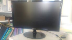 Monitor, Samsung SyncMaster S22B300N 22 inch screen, Widescreen LED LCD