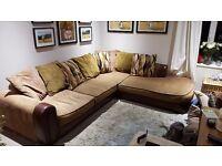 Large Harveys corner sofa