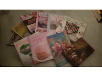 Job lot of very good condition baking books