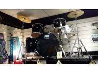 Performance Percussion Black Drum Kit
