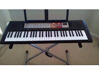Yamaha PSR -F50 Keyboard and Stand