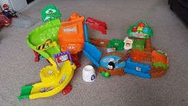 Vtech Toot Toot Zoo & 6 animals