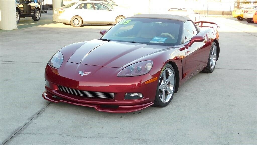 2005 Red Chevrolet Corvette   | C6 Corvette Photo 1