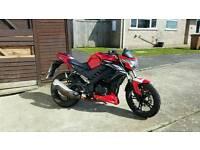 Ajs tn12 125cc motorbike