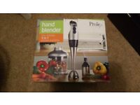 Prolex Handblender for blend, puree, whisk and chop (3 in 1)